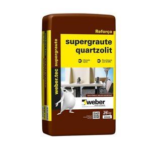 Argamassa Super Graut (50MPA) SC 25K Quartzolit